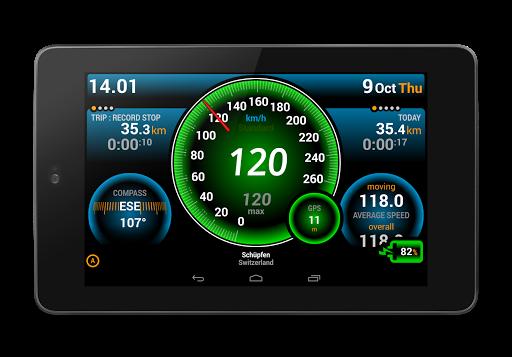 Ulysse Speedometer 10 تصوير الشاشة