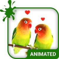 Lovebirds Animated Keyboard   Live Wallpaper on 9Apps