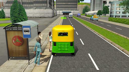 Tuk Tuk Rickshaw City Driving Simulator 2020 screenshot 2