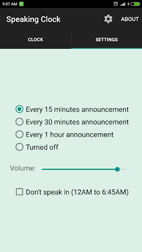 সময় বলা ঘড়ি Bangla Talking Clock (Ad free) 2 تصوير الشاشة