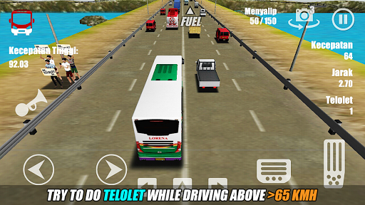 Telolet Bus Driving 3D screenshot 3