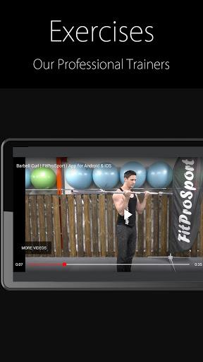 Fitness Trainer FitProSport screenshot 4