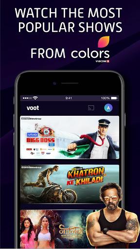 Voot Select Originals, Bigg Boss, MTV, Colors TV screenshot 2