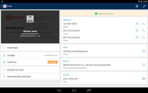 CamCard - Business Card Reader screenshot 16