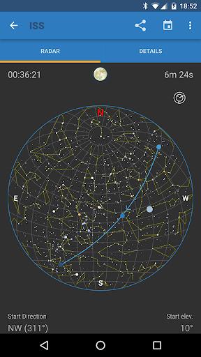 ISS Detector screenshot 2
