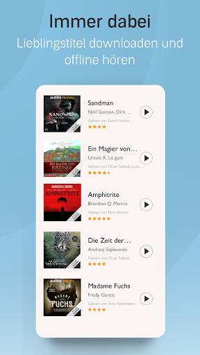Audible: Hörbücher, Hörspiele & Podcasts hören screenshot 5