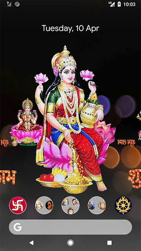 4D Lakshmi Live Wallpaper screenshot 10