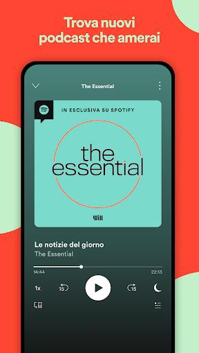 Spotify: musica e podcast screenshot 8