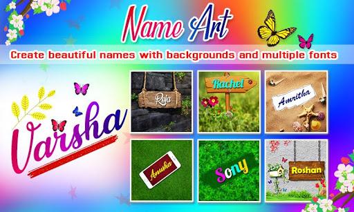 Name Art Photo Editor - 7Arts Focus n Filter 2021 screenshot 2