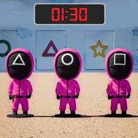 Pink Squad - Run, Stop Game - Red Green Light on 9Apps