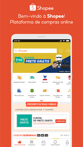 Shopee: Compre de Tudo Online screenshot 1
