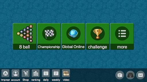 8 ball billiards offline online pool game screenshot 1