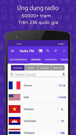 Đài FM (Radio FM) screenshot 1