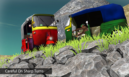 Tuk Tuk Auto Rickshaw Offroad Driving Games 2020 screenshot 4