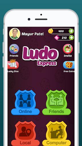 Ludo Express : Online Ludo Game, Ludo Offline 2021 screenshot 1