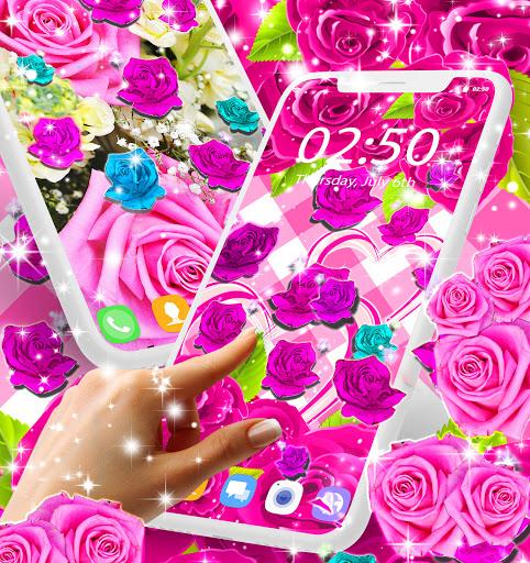 Best rose live wallpaper 2021 screenshot 2