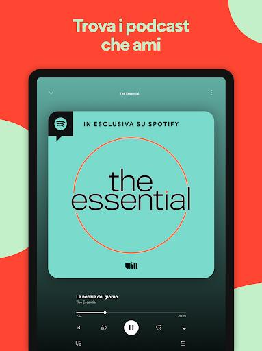 Spotify: musica e podcast screenshot 12