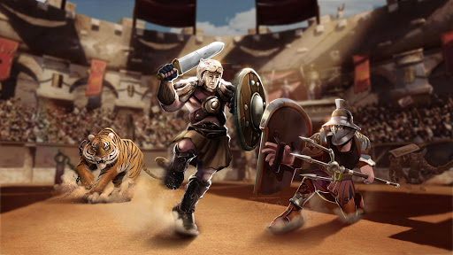 Gladiator Heroes - Fighting and strategy game screenshot 4