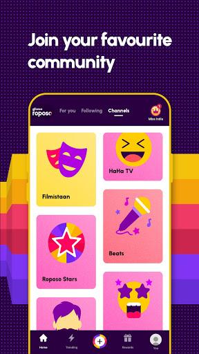 Roposo: Indian Short Video App. Viral Funny Videos screenshot 5
