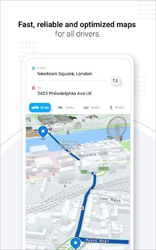 Navegação GPS ao vivo, mapas, direções e explorar screenshot 17