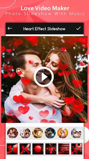 Love Video Maker : Photo Slideshow With Music screenshot 8