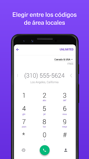 TextNow - Textos y Llamadas screenshot 3