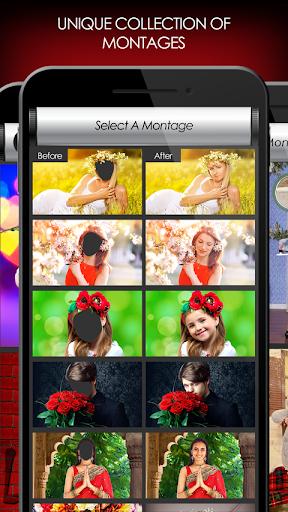 penyunting foto bunga: bingkai, pelekat & kolaj screenshot 6