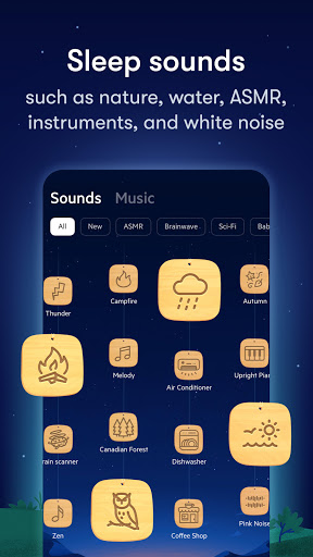 Relax Melodies: Sleep Sounds, Meditation & Stories स्क्रीनशॉट 3