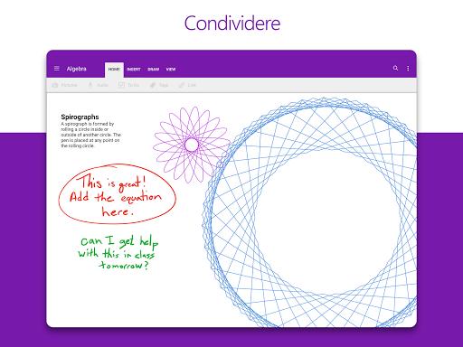 Microsoft OneNote: salva idee e organizza note screenshot 8