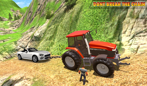 Tractor Pull Simulator Drive: Tractor Game 2021 स्क्रीनशॉट 9