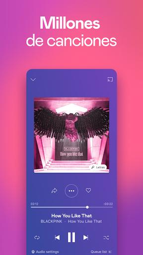 Deezer: música, playlists y podcasts screenshot 1