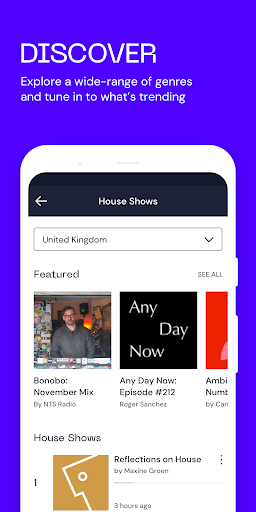 Mixcloud - Radio- & DJ-Mixes screenshot 4