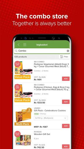 bigbasket - Online Grocery Shopping App screenshot 8
