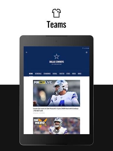 FOX Sports: Latest Stories, Scores & Events screenshot 13