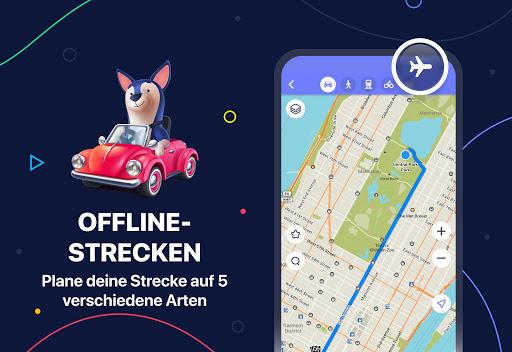 MAPS.ME – Offline-Karten, GPS-Navigation screenshot 1