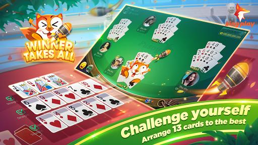 Pusoy ZingPlay - Chinese poker 13 card game online screenshot 2