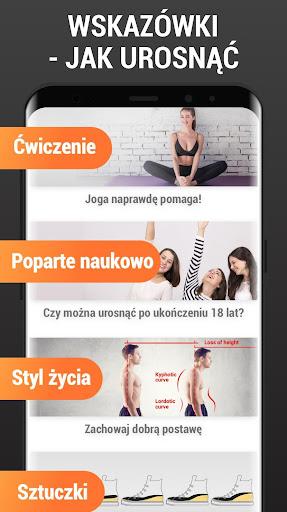 Wzrost Ćwiczenia w Domu - Ćwiczenia na Wzrost screenshot 7