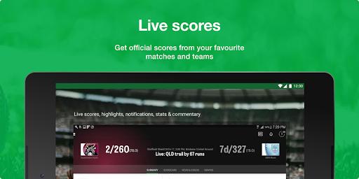 Cricket Australia Live screenshot 11