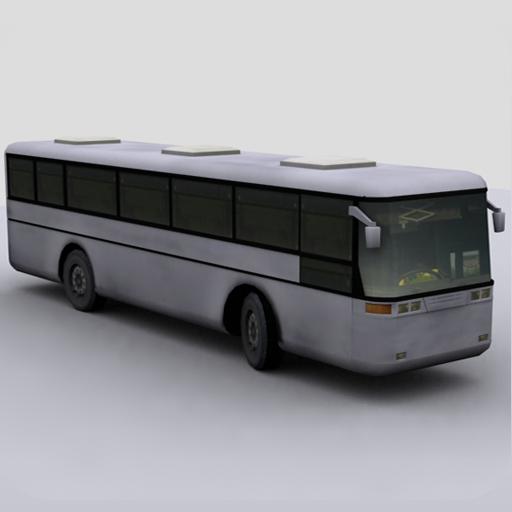 Busparkplatz 3D icon