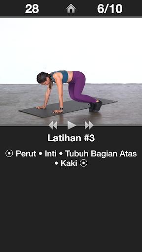 Latihan Jantung Harian - Rutinitas Latihan Aerobik screenshot 3