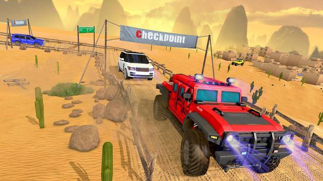 Luxury LX Prado Desert Driving screenshot 12