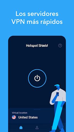 Hotspot Shield Proxy VPN gratuito y VPN segura screenshot 2