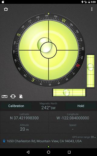 Compass Level & GPS स्क्रीनशॉट 11