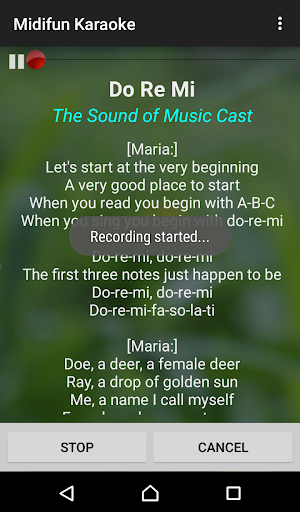 Midifun Karaoke screenshot 3