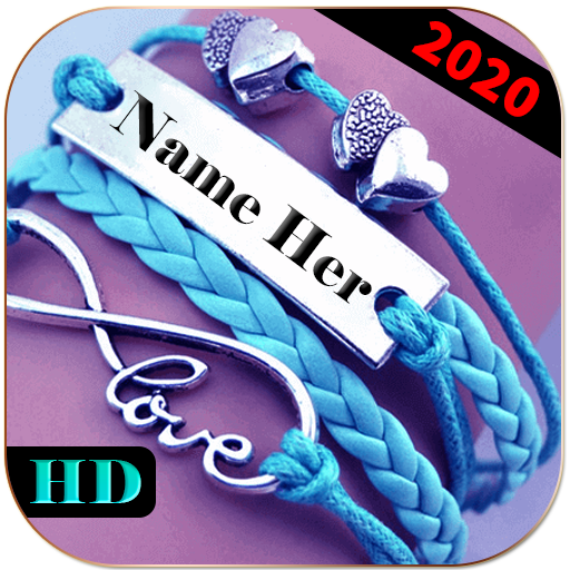 Name On Necklace - Name Art आइकन