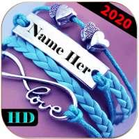 Name On Necklace - Name Art on APKTom