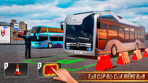 Buýt mô phỏng trò chơi đậu xe - trò chơi xe buýt screenshot 3