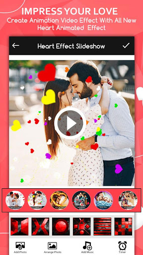 Love Video Maker : Photo Slideshow With Music screenshot 1