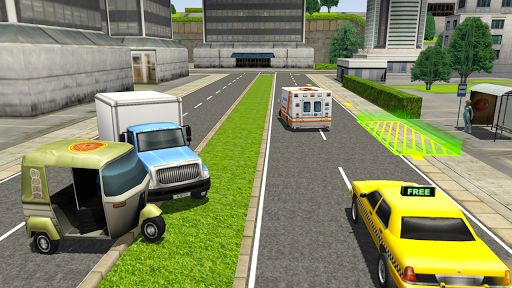 Tuk Tuk Rickshaw City Driving Simulator 2020 screenshot 3