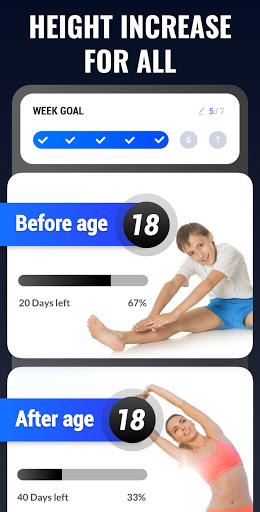 Height Increase - Increase Height Workout, Taller screenshot 1